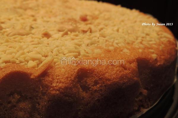 烤杏仁蛋糕