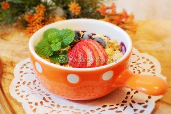 香烤莓果奶酥