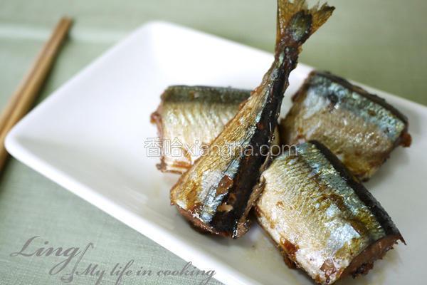 佃煮秋刀鱼