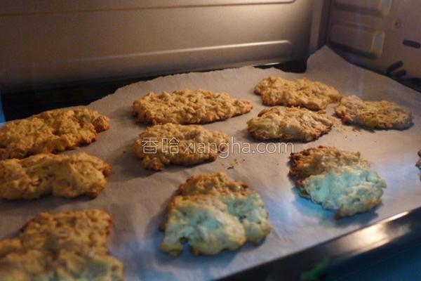 蜂蜜燕麦饼干的做法