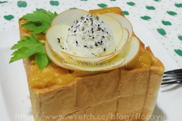 日式苹果蜜糖吐司