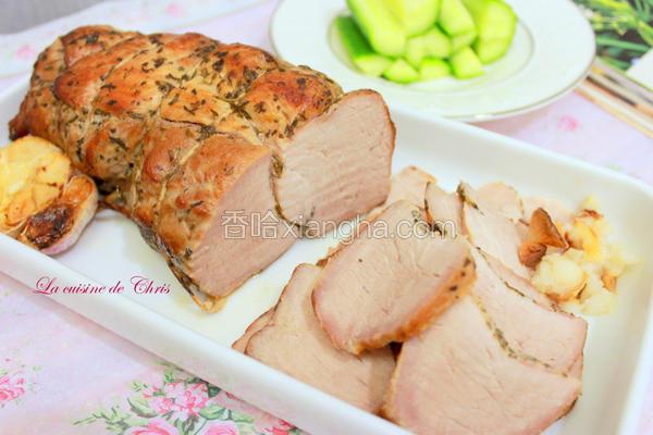 意式香料烤猪排