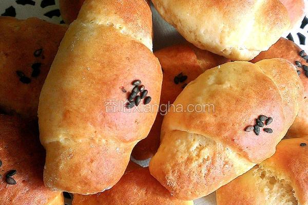 简易牛角面包