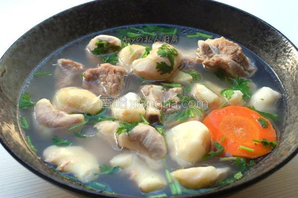 菱角排骨汤