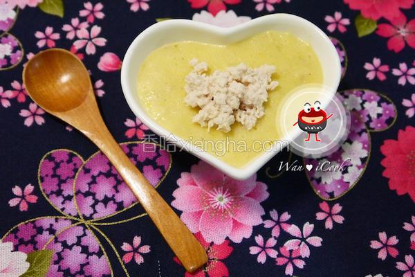 玉米鸡容粥