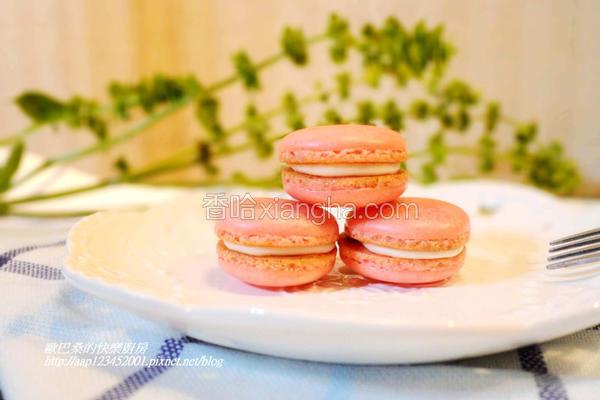 草莓甜心马卡龙