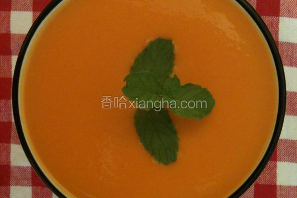 红萝卜地瓜浓汤