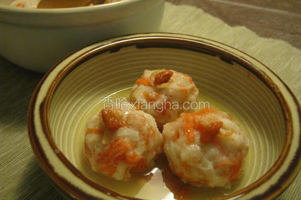 蟹肉丝虾球