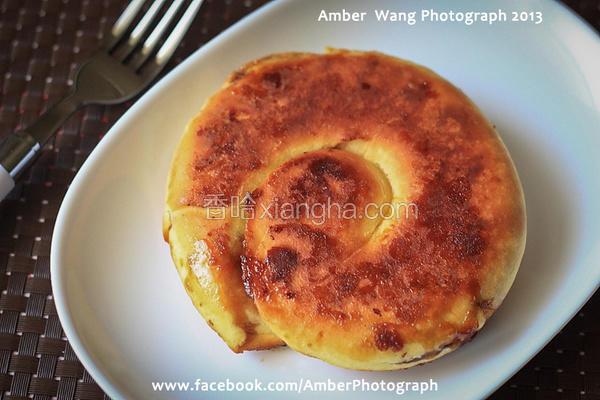 黑糖麻糬饼