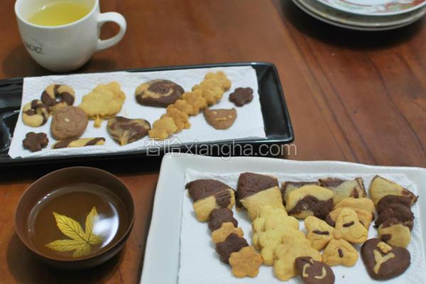 餐桌手工饼干