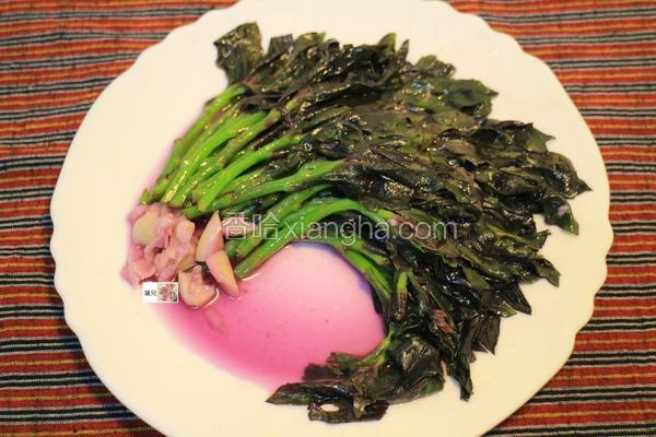 麻油红凤菜