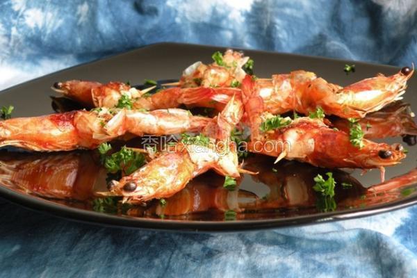 奶油蒜味虾