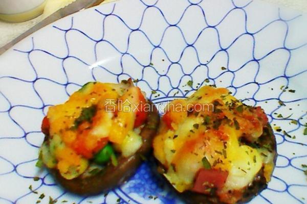 焗烤蔬食香菇