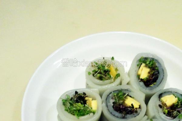 河粉芽寿司