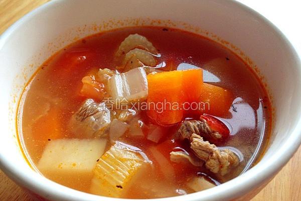 蔬菜牛肉汤3