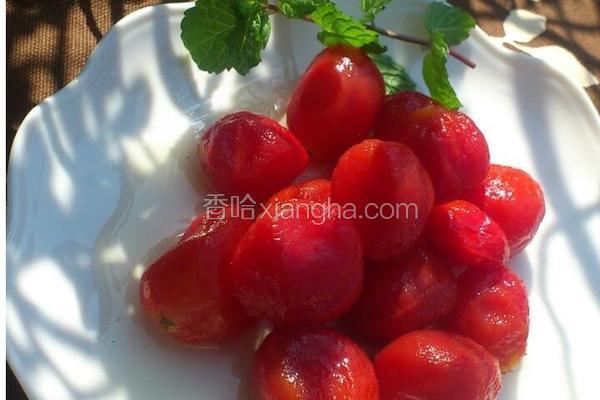 梅汁小番茄