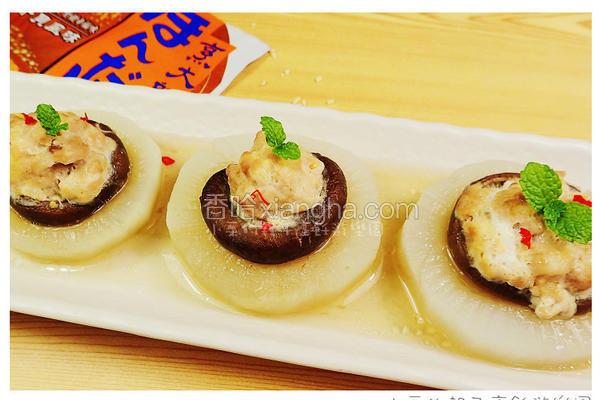 彩头香菇酿肉