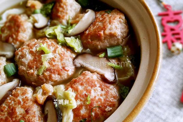 开阳白菜肉丸锅