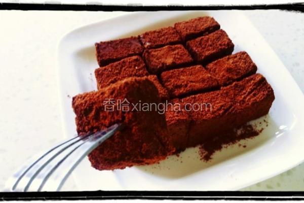 巧克力豆浆糕