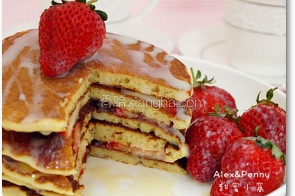 草莓松饼叠叠乐
