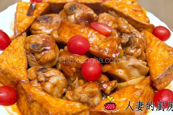 茄汁鸡肉烩豆腐