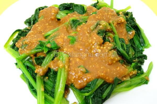 花生酱菠菜