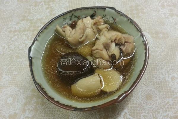 脆瓜仔香菇鸡汤