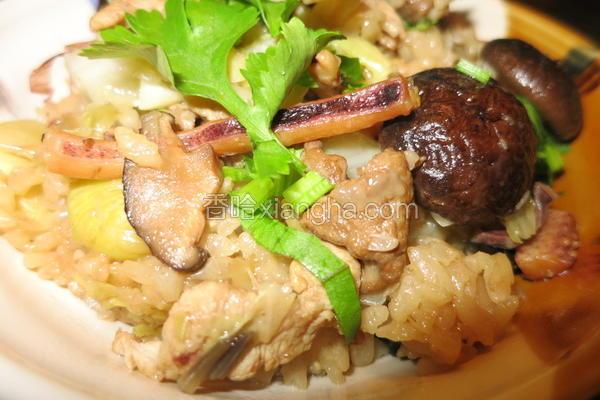 香菇高丽菜饭