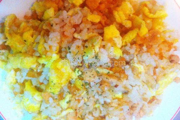 超鲑鱼炒饭