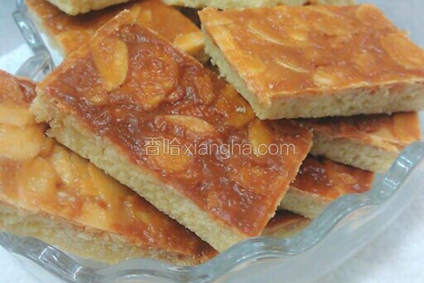太妃杏仁酥饼