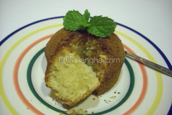 试作柠檬蛋糕