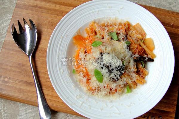 韩式泡菜意大利面