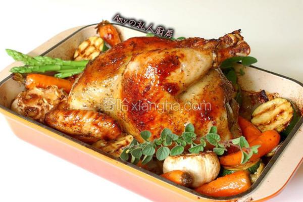 法式香料烤鸡