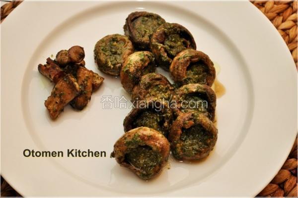 蒜香双孢蘑菇