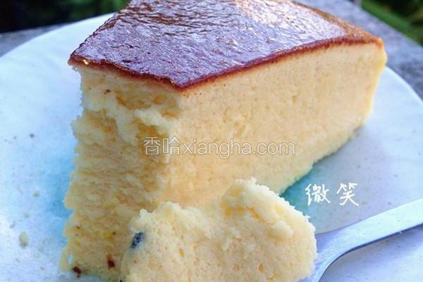百香果轻乳酪蛋糕