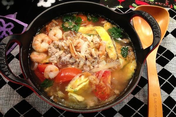 番茄蟹肉蛋汤