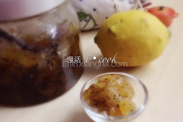 苹果红茶果酱