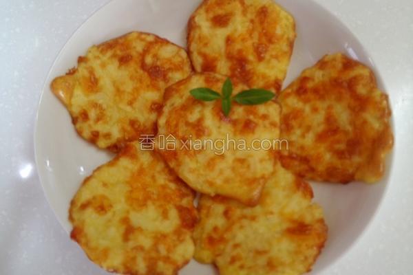 起司烤马铃薯饼的做法