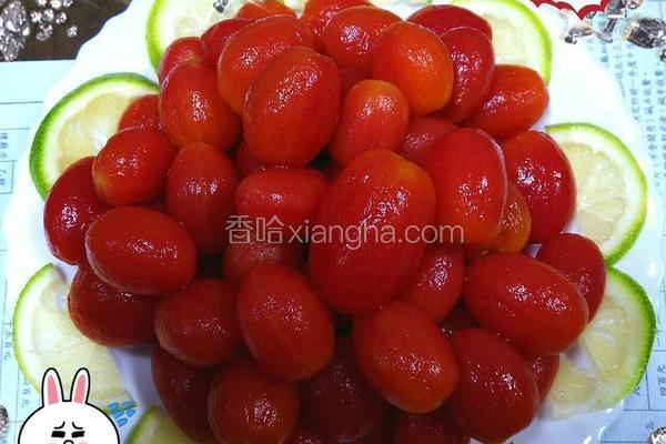 冰梅腌番茄