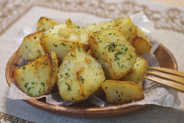 蒜香起司马铃薯