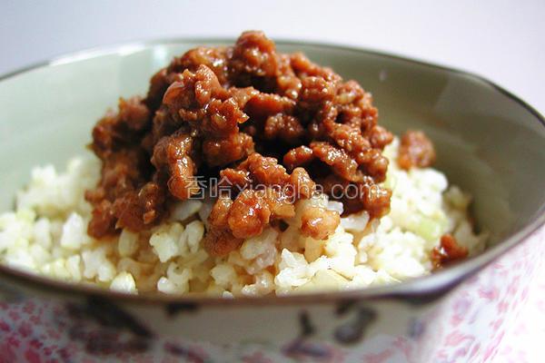 简易台湾卤肉燥