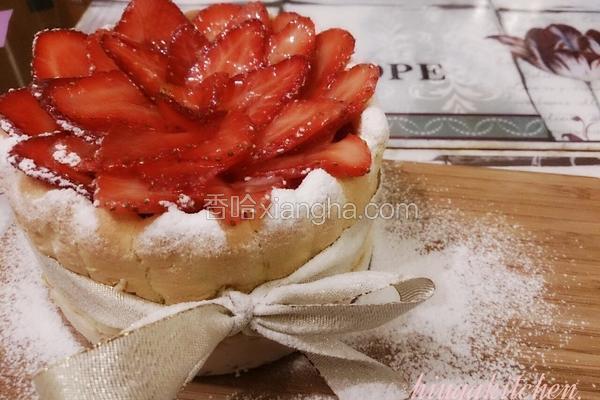 草莓洛神花夏洛蒂