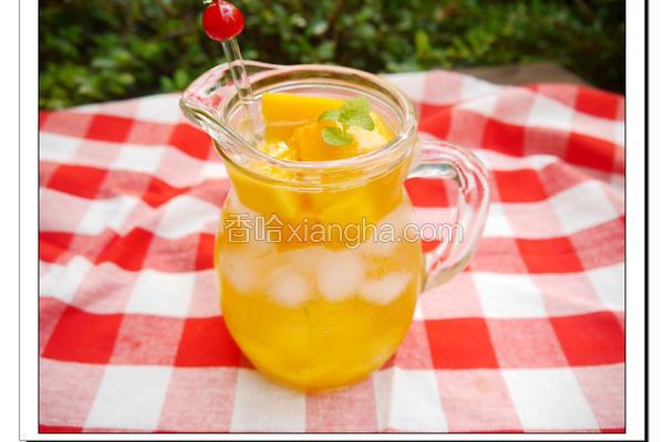 芒果气泡饮