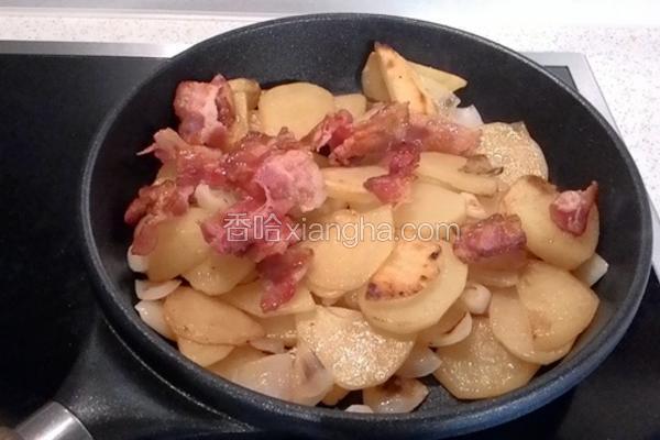 德式煎培根马铃薯