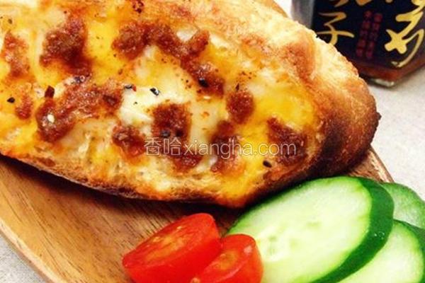 鱼子酱法国面包
