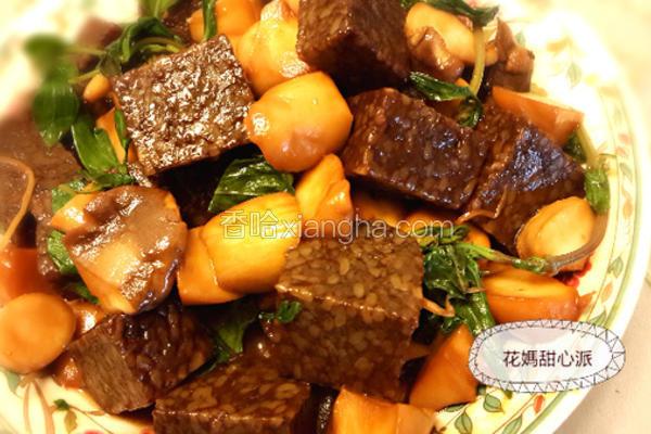 蚝油杏鲍紫菜糕