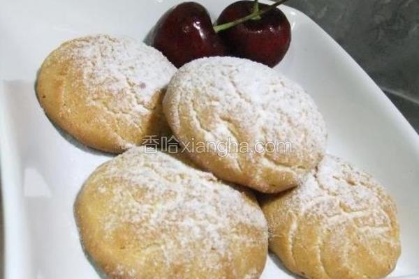 糖粉泡芙饼