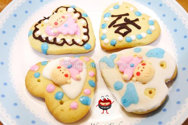 童趣收涎彩绘饼干