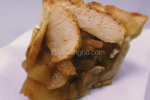 肉桂苹果塔