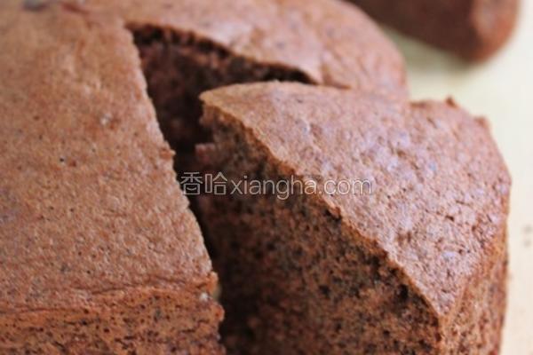巧克力海绵蛋糕